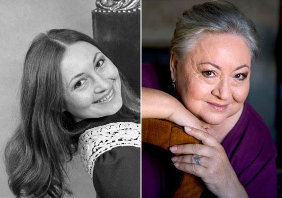 Molnár Piroska 1977-ben - ekkor a kaposvári Csiky Gergely Színház társulatának tagja volt. Nem tartotta magát szépnek, ami fiatalkori fotóját elnézve érthetetlen. 70 évesen számtalan rangos kitüntetést tudhat magáénak, a nemzet színésze, Kossuth-díjas és Jászai Mari-díjas.