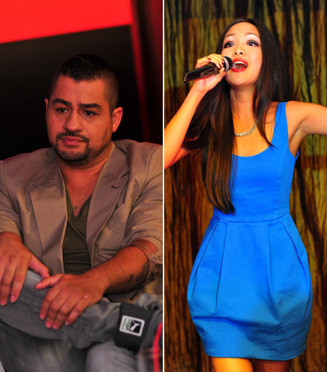 Caramel és HienCaramel és Hien először a Megasztár negyedik szériájában találkoztak, amikor az énekesnő még csupán 16 éves volt. Kettejük között már akkor kialakult a szimpátia, ami 2011-ben szerelemmé alakult. Kapcsolatuk azonban néhány hónap múlva véget ért.Kapcsolódó cikk:Caramel és Hien összejött »
