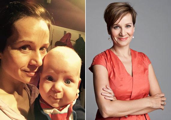 Bakos Piroskának, a Hír24 TV híradósának első gyermeke, Marcell 2014. július 31-én látta meg a napvilágot.