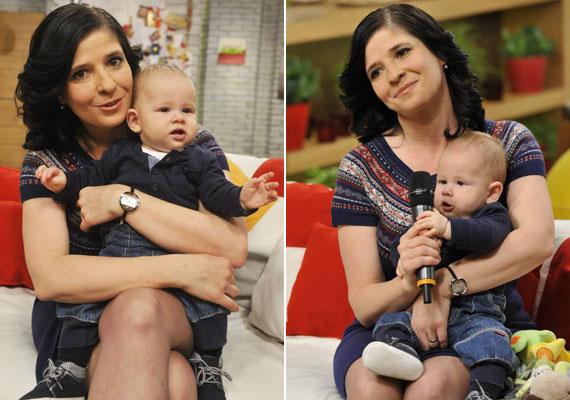 Dióssy Klárinak, a Család-barát gyesen lévő műsorvezetőjének a kisfia, Máté 2014. július 28-án jött világra.