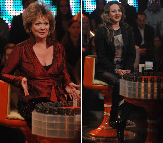 A Centrál Színház társulatának két színésznője, Básti Juli és Pokorny Lia is vendége volt Gundel Takács Gábor népszerű vetélkedőjének.