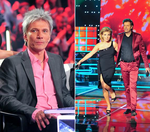 Tilla is csatlakozott Falusi Mariann és Bereczki Zoltán színválasztásához, míg Bochkor Gábor a rózsaszín-szürke kombináció mellett döntött.