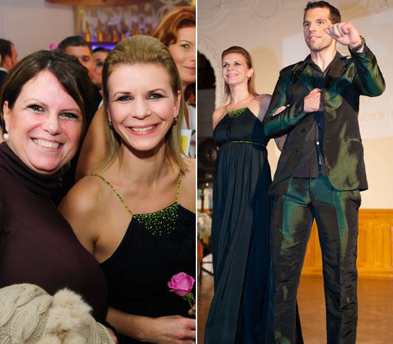 Schell Judit színésznő nemcsak a kifutón, de a résztvevők körében is nagy sikert aratott.