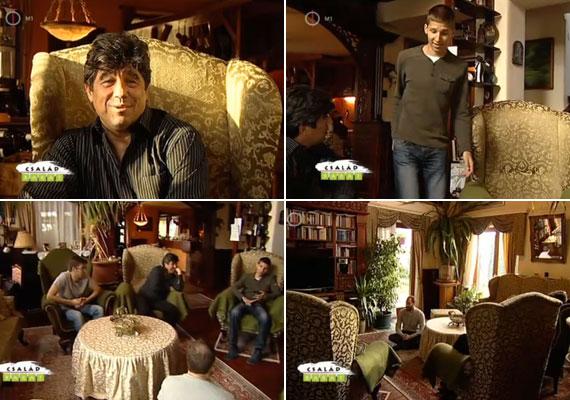 A tágas nappalit akkor lakják be igazán, ha a gyerekeik is otthon vannak: a 17 éves Nemcsák Máté, aki egy debreceni szakközépiskolába jár, és katonának készül, a 19 éves Nemcsák Balázs és Nemcsák Károly nevelt lánya, Darvasi Cecília.