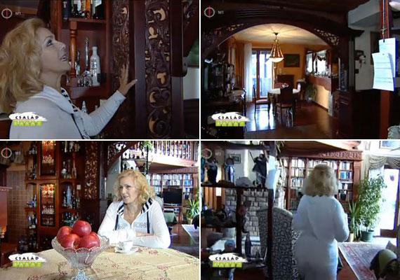 Minden bútoroknak és polcnak története van, erről a feleség, Darvasi Ilona jelmeztervező, a Turay Ida Színház, illetve a Soproni Petőfi Színház egykori igazgatója tudna mesélni.