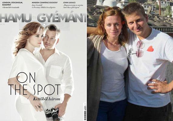 Az On The Spot riporter-műsorvezető párosa, Cseke Eszter és S. Takács András augusztus végén a Hamu és gyémánt címlapját közzé téve szintén a Facebookon tudatták: babát várnak.