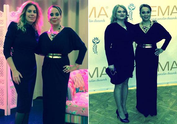 A rendezvény háziasszonya Csisztu Zsuzsa műsorvezető volt, aki a Tóth Bori - Maison Marquise fekete kreációját viselte.