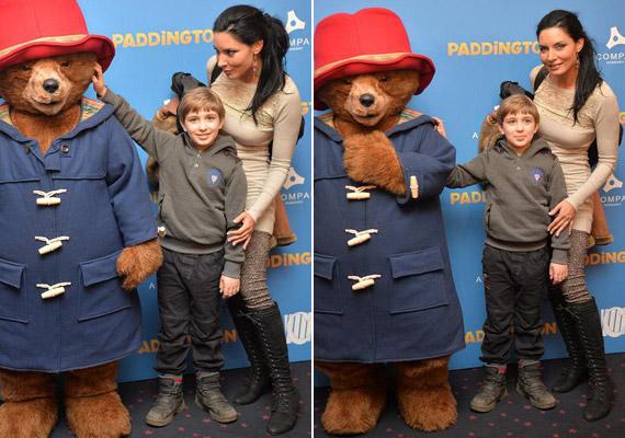 Gregor Bernadett kisfia, Álmos 2007-ben jött világra. Ritkán mutatkozik vele édesanyja, de a színésznő a nyolcéves kissrác kedvéért tavaly decemberben a Paddington című vígjáték premier előtti vetítésén kivételt tett.