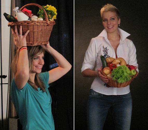 Novodomszky Éva, az m1 és Tatár Csilla, a TV2 csinos szőke műsorvezetője is a kezdeményezés mellé állt.