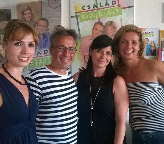 A Család-barát nyolcadik évadában Kurucz Év, Gaskó Balázs, Dióssy Klári és Novodomszky Éva lesznek a magazin állandó műsorvezetői.