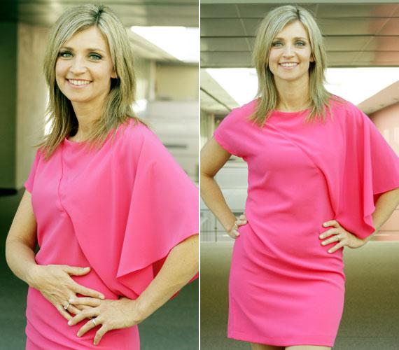 Az 58. Eurovíziós Dalfesztivál felvezető műsorát, az Elővíziót ebben a pink ruhában vezette.