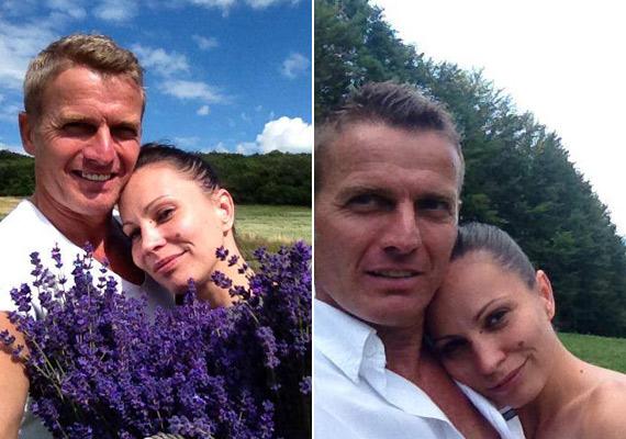 Mint a kamaszok! Rékasi Károly és Pikali Gerda lassan három éve alkotnak egy párt, a fotókon pedig jól látszik, még mindig odavannak egymásért.