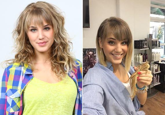 Nyári Dia, a Barátok közt Hannája pénteken mutatta meg a rajongóinak új frizuráját a közösségi oldalán.