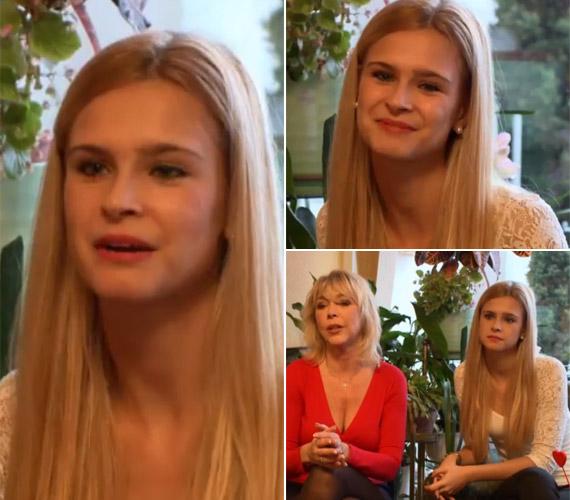 Nyertes Zsuzsa lánya már 21 éves, Zsuzsó örökölte édesanyja szépségét, gyönyörű ifjú hölgy lett belőle.