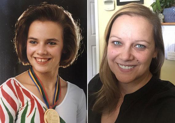 Ónodi Henrietta a '90-es évek imádott tornásznője volt, 1992-ben aranyat és ezüstöt szerzett Barcelonában. A 41 éves egykori élsportoló ma háromgyerekes anyuka, fogorvos férjével Miami mellett élnek.