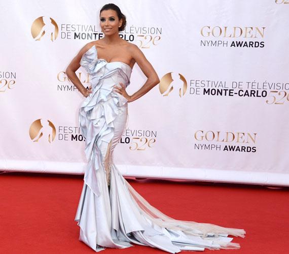 Tavaly Eva Longoria estélyi ruhája volt a legpazarabb a monte-carlói televíziós fesztiválon.
