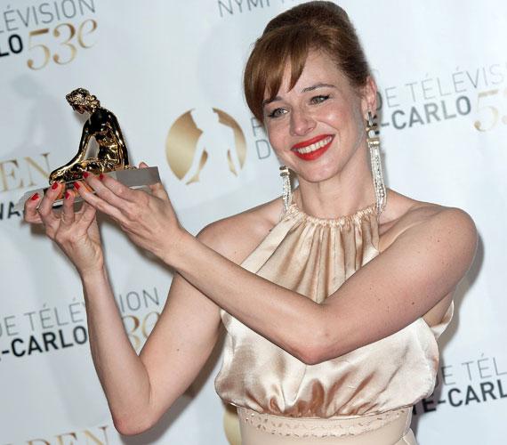 A magyar sztár Deák Krisztina Aglaja című filmjében nyújtott alakításáért vehette át a legjobb női főszereplő díját a monte-carlói televíziós fesztiválon