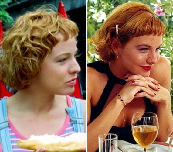 A képek a Meseautó című film forgatásán készültek, ami a színésznő első nagy sikere volt.