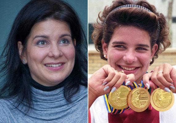 Egerszegi Krisztina ötszörös olimpiai bajnok, többszörös Európa- és világbajnok úszó egyike a modern olimpiák legsikeresebb magyar sportolóinak. Az 1996-os atlantai olimpia után visszavonult. A 40 éves Egérnek két fia és egy kislánya született.