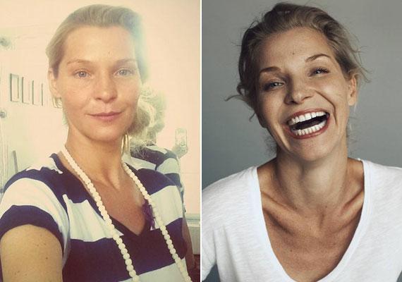 Lilu, az RTL Klub műsorvezetője is a természetesség híve, ha nem forgat, ő sem visel sminket.