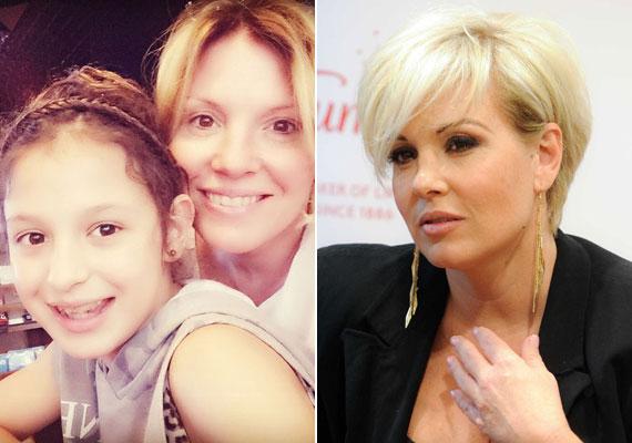 Liptai Claudia az Instagramra töltötte fel a kislányával közös fotóját, amin nincs kisminkelve. 2015 szeptemberében egy fehérnemű-bemutatón már kifestve, rövid hajjal.