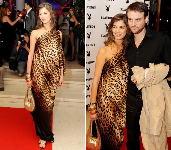 Nem ez volt az első alkalom, hogy a vadabb, dögösebb stílus mellett döntött - a 2009-es Playboy-partin leopárdmintás estélyiben lépett a vörös szőnyegre.