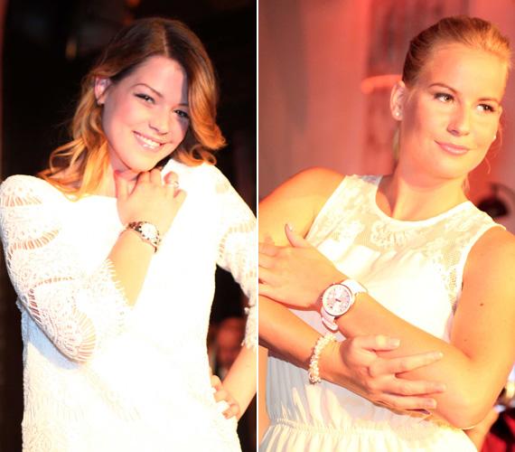 Muri Enikő, a tavalyi X-Faktor üdvöskéje és Mádai Vivien, az RTL Klub Reflektor című műsorának háziasszonya is a hófehér csipkeöltözet mellett döntöttek.