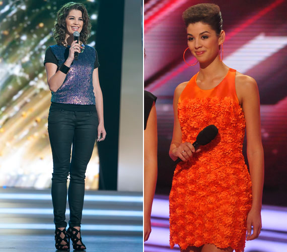 A 34 éves sztár ruháival is közérdeklődésre tarthat számot. Miután a TV2-höz szerződött, és bemutatkozott a Rising Star műsorvezetőjeként, sok kritikát kapott azért, mert nem tőle megszokott, csinos ruhákban volt látható, túl átlagos és előnytelen öltözeteket adnak rá. A nézők bizonyára elfelejtették, hogy a RTL Klubon is láthattuk furcsa darabokban, mint az X- Faktorban viselt narancsszínű kreáció.
