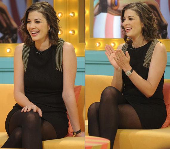 2013. november 17-én a Vundersőn és Zuperszexi vendége volt - ekkor lágy, hullámos frizurával jelent meg a műsorban.