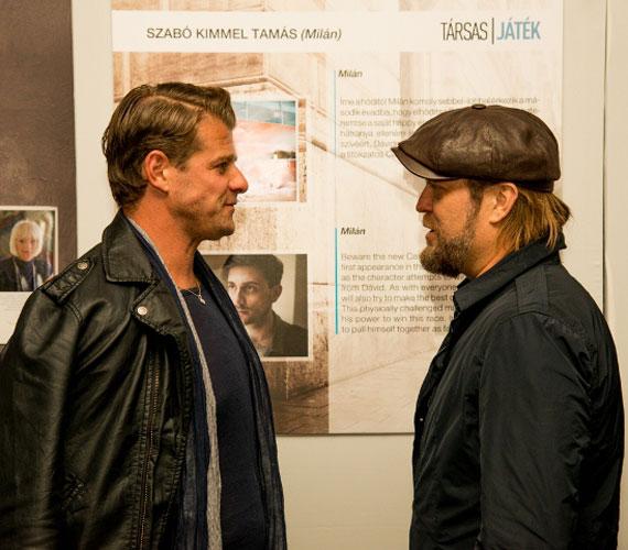 Kamarás Iván és Szabó Győző az első három rész levetítése után állt össze beszélgetni. Utóbbi párja, Rezes Judit is szerepel a második évadban.