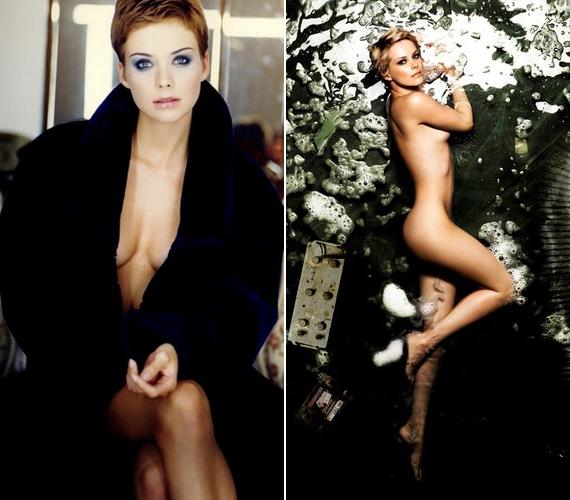A színésznő modellként kezdte a karrierjét, akkor már jelentek meg róla fehérneműs képek, ám meztelenre nem szokott vetkőzni. Éppen ezért különlegesek a most megjelent fotók.