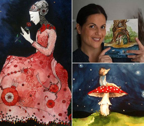 Festményeit számos művész dicsérte. Gyerek rajongói is vannak, ő illusztrálta például a Sün Peti című mesekönyvet is.