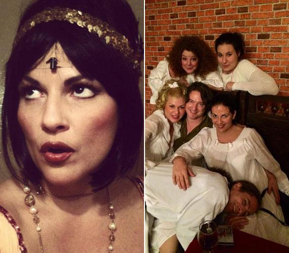 Több színdarabban is láthatjuk, így az Elvámolt nászéjszaka, Az ördög nem alszik vagy a Mona Marie mosolya című vígjátékokban.