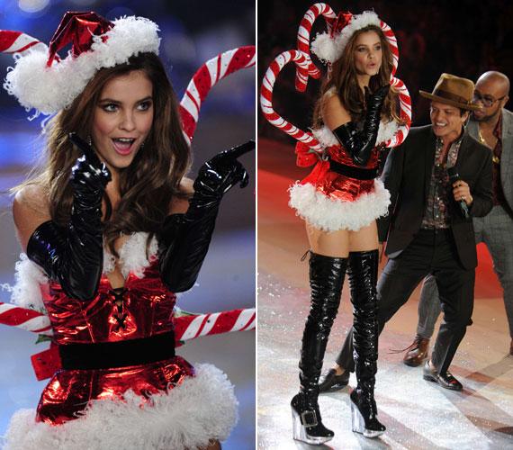 2012 novemberében Victoria's Secret angyalként lépett színpadra a fehérneműcég bemutatóján, mégpedig olyan világsztárok mellett, mint Miranda Kerr, Alessandra Ambrosio vagy Doutzen Kroes. Még a sztárfellépő, Bruno Mars sem tudott betelni a látvánnyal.