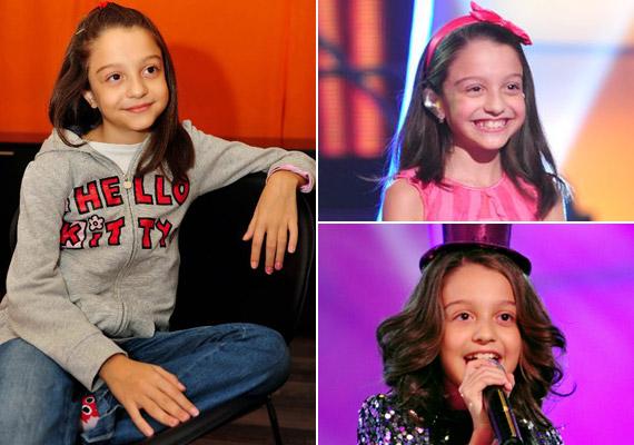 Tíz éve kislányként hamar belopta magát a tehetségkutató nézőinek szívébe.