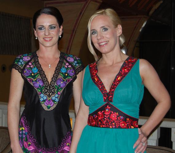 Hrivnák Tünde BY ME Spicy kollekciójának a védnöke Bánhidi Petra, az argentin tangó világbajnoka.