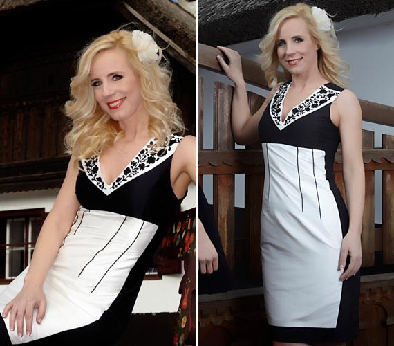 BY ME Matyó fekete-fehér darabjai bizonyítják, lehet egy ruha egyszerre tradicionális és elegáns.