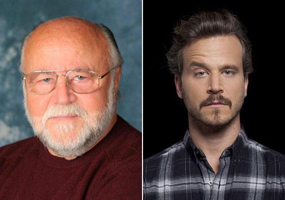 A 74 éves Haumann Péterre nagyon hasonlít 35 éves Máté fia, aki egyébként szintén színész, játszik színházban, szerepel külföldi és magyar filmekben, a köztévé Fapad című sorozatában a tévében is látható.