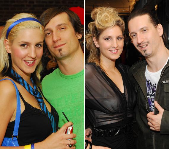 Galambos Dorinával 2003-ban ismerkedtek meg, a szerelem azóta tart, annak ellenére, hogy az évek során mindketten sokat változtak.