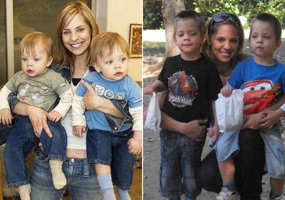 Az ikrek 2006. január 9-én születtek. Édesapjuk Bánszki László, vagyis Timo. A szülők a VIVA TV-nél ismerkedtek meg, 2005 nyarán házasodtak össze.