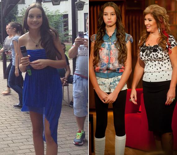 Kiszel Tünde lánya, Donatella babakora óta részt vesz fotózásokon, a 13 éves kislány manapság már önszántából modellkedik, nemrég pedig egy gyerekszépségverseny műsorvezetőjeként mutatkozott be.