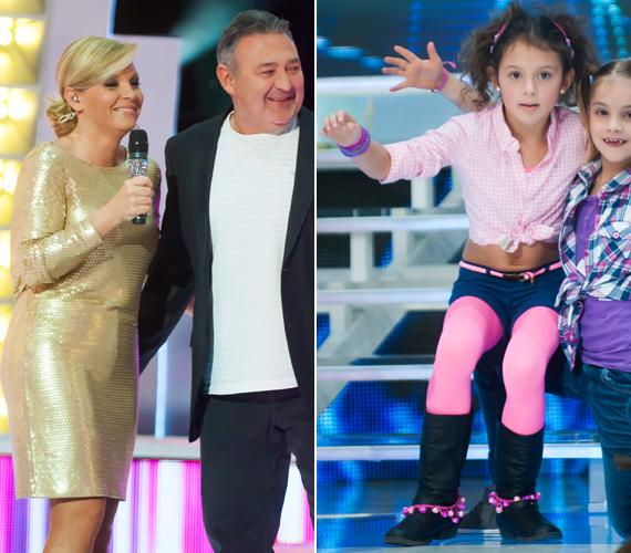Liptai Claudia és Gesztesi Károly kislánya, a nyolcéves Panka is állt már színpadon: A Nagy Duett című műsor egyik 2013-as adásában táncolt a gyerekkarban - azóta is szép sikereket és el aerobikban.
