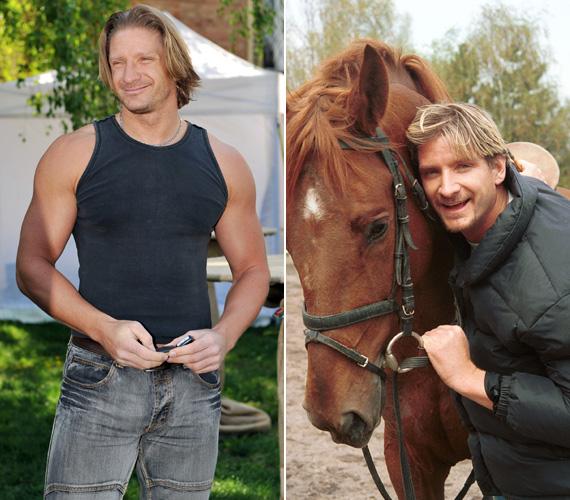 A népszerű musicalszínész a lovassportok nagy szerelmese. 2010-ben megnyerte a Nemzeti Vágta celebfutamát is.