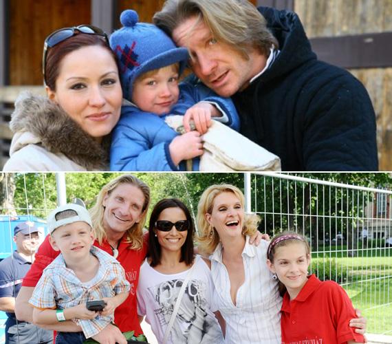 Pintér Tibor Janza Katával a mai napig szoros barátságot ápol, de volt felesége és a jelenlegi is remekül megértik egymást. A színésznő második házasságából született kisfia és a kis Máté egy óvodába is járnak.