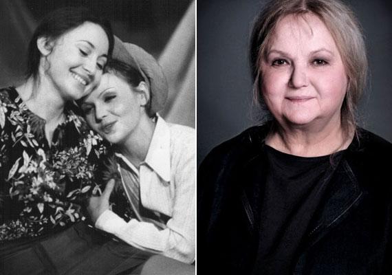 A kaposvári Csiky Gergely Színház Ahogy tetszik című vígjátékában 1974-ben - ő a bájos, fehér inges nő, akihez pedig hozzábújik nem más, mint Molnár Piroska. A színésznő szeptember 10-én lett 71 éves.