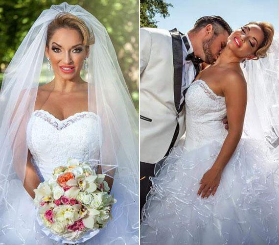 Völgyi Zsuzsi augusztus 1-jén a Héjja Szalon gyönyörű esküvői ruhájában ment férjhez. Az énekesnő és Gábor 15 évvel ezelőtt már jártak egymással, ám véget ért a kapcsolatuk. Egy éve találkoztak újra, és kiderült, hogy még mindig szerelmesek egymásba.