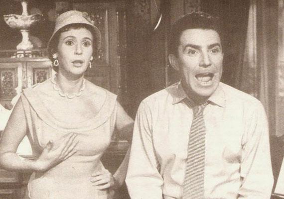 Már egyikük sincs köztünk - a fiatal Psota Irén és Zenthe Ferenc Bán Frigyes 1957-es, Csendes otthon című filmjében.