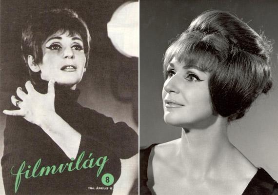 1966 áprilisában ő szerepelt a Filmvilág magazin címlapján. Érthető, hogy első nagy szerelme, Seregi László, az Operaház későbbi koreográfusa miért mondta róla, hogy kozmikusak a szemei.