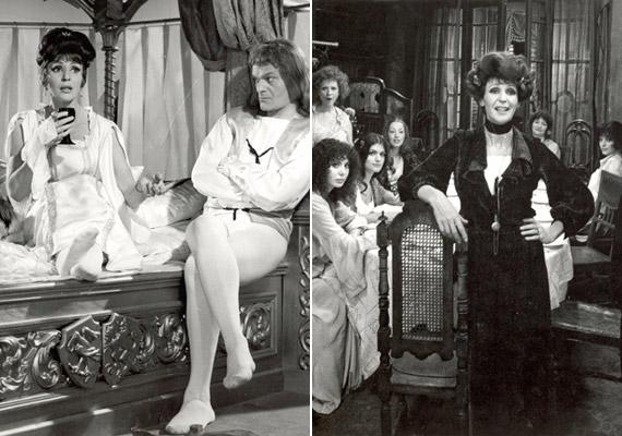 Makk Károly főiskolás korában szeretett bele Psota Irénbe. A színésznő a filmrendező több filmjében is játszott, először az 1956-os Mese a 12 találatról című vígjátékban. A bal oldali kép az 1964-es Mit csinált felséged 3-tól 5-ig?, a jobb oldali az 1977-es Egy erkölcsös éjszaka című alkotásból való.