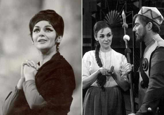 Az 1965-ös Yerma és az 1961-es A kaukázusi krétakör című darabban Zenthe Ferenccel.